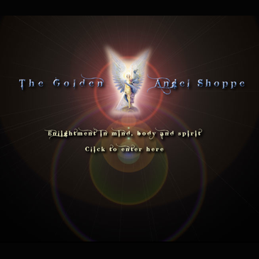 The Golden Angel Shoppe website
