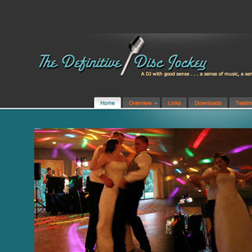 The Definitive Disc Jockey website