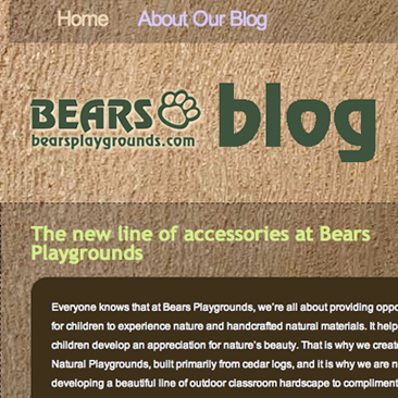 Bears Playgrounds Blog