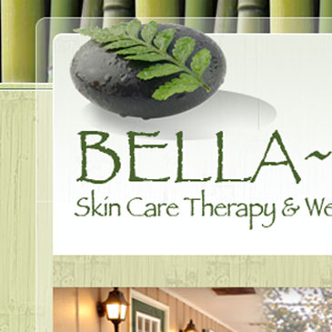 Bella~Zen Skin Care website
