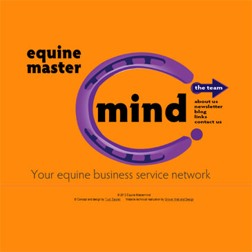Equine Mastermind website