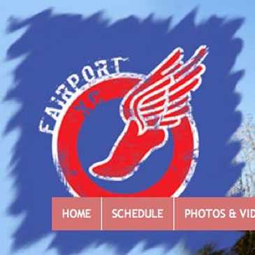 Fairport Cross Country website